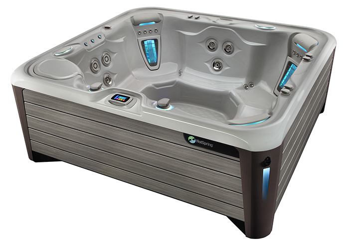 Hot Spring Grandee NXT IceGray Monteray Gray